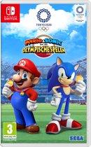 Cover van de game Mario & Sonic op de Olympische Spelen: Tokio 2020 - Switch