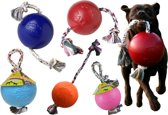 Jolly Romp-n-Roll Large (8 inch) 20 cm rood