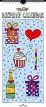 Hallmark - Verjaardagskalender - Sandysign Rechthoekig