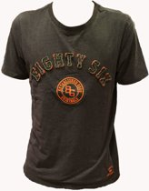 Eighty Six T Shirt Anraciet Grijs Maat S