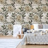 Fotobehang Vintage Floral Pattern   VEP - 250cm x 104cm   130gr/m2 Vlies