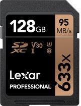 Lexar Professional 633x SDHC 128GB -  95 MB/s UHS-I