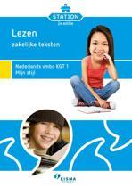 Station Lezen, zakelijke teksten Nederlands vmbo KGT 1 mijn stijl
