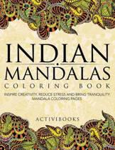 Indian Mandalas Coloring Book