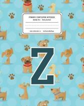 Primary Composition Notebook Grades K-2 Story Journal Z