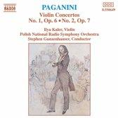 Paganini: Violin Concertos / Kaler, Gunzenhauser