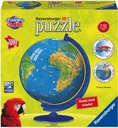 Ravensburger XXL Kinder globe (Engels) - 3D Puzzel van 180 stukjes