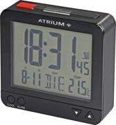 ATRIUM wekker - Radiogestuurd - Digitaal - Zwart - A740-7