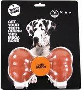 Tasty Bone Piepend Speelgoed - Bacon - Mega