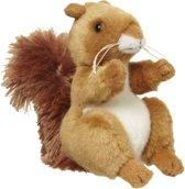 Pluche eekhoorn knuffel 11 cm