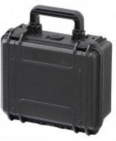 Gaffergear camera koffer 023 zwart   -  excl. plukschuim    -  24,30   x 11,75  x 11,75  cm (BxDxH)