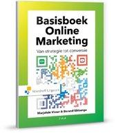 Boek cover Basisboek online marketing van Marjolein Visser (Hardcover)
