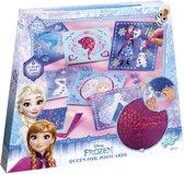 Disney Frozen Queen foil postcards - Maak je eigen folie kaarten - Totum Knutselset