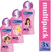 Dermo Care Moxi Girlz - 3x 200 ml