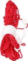 Ballennet - Voor 2 Ballen - Rood/Wit