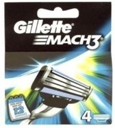 Gillette MAch 3 , 4 mesjes