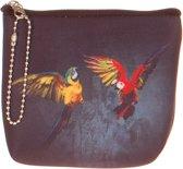 Kleine portemonnee papegaai-