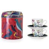 Images D'Orient POR-922042 kopje Multi kleuren Koffie 2 stuk(s)