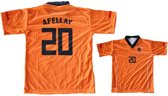 Nederlands T-shirt Afellay Maat Xxl