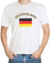 Deutschland t-shirt met vlag 2xl