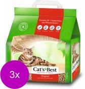 Cat's Best Original - Kattenbakvulling - 3 x 10 l