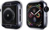 |GoldenFix-IT| Horloge Case Transparant Apple Watch 1/2/3/4| 40MM| TPU|