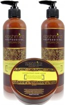 Kashmira Professional Argan Oil set Shampoo, Conditioner & Masker