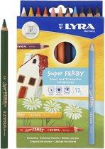 Lyra 3721120 kleurpotlood 12 stuk(s)