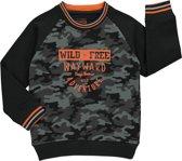 Losan Jongens Sweater Army Bruin - Maat 110