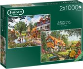 Falcon A Beautiful Summer's Day 2x 1000 pcs