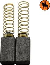 Koolborstelset voor Milwaukee Schuurmachine 375182 - 5x8x14mm