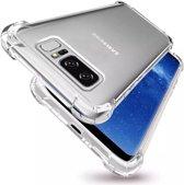 Samsung Galaxy S10 Hoesje Transparant Siliconen Shock Proof - TPU Case met verstevigde randen
