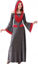 Halloween Gothic dames jurk grijs