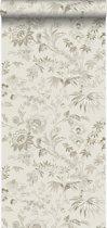 Origin behang bloemen beige - 326123