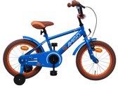 Amigo Sports - Kinderfiets - Jongens - Blauw - 16 Inch