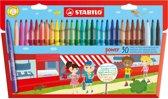 STABILO Power Viltstiften - Etui 30 stuks