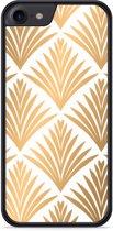 iPhone 7 Hardcase hoesje Art Deco Gold