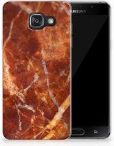 Samsung Galaxy A3 2016 TPU Hoesje Design Marmer Bruin
