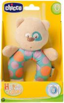 Chicco Happy Colors Knuffelrammelaar - Poes