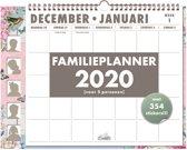 Hobbit familieplanner omslag spiraal weekkalender D3 2020 voor maximaal 5 personen
