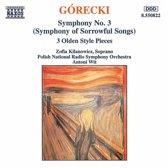 Gorecki: Symphony no 3 / Kilanowisz, Wit, Polish NRSO