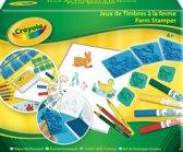 Crayola Hobby: boerderij stempelset