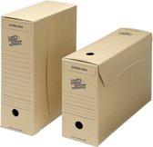 Loeff's gemeentearchiefdoos Jumbo box 370x255x115 mm     Pak van 25 stuks