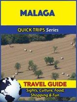 Omslag van 'Malaga Travel Guide (Quick Trips Series)'
