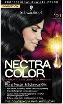 Schwarzkopf Nectra Color 100 Zwart - Haarverf