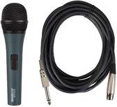 Zwarte Dynamische Microfoon Met Draagkoffer