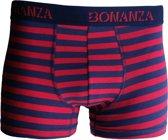 Bonanza boxershort - katoen - stripe - rood - XL