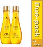 Duo-pack-Schwarzkopf BC Oil Miracle Finishing Treatment  2x 100 ml