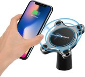 Wireless Charger Quick Charge oplader Magnetische Auto houder voor o.a. iPhone Xs Max XR X 8 Plus, Samsung S9 Note 9