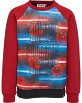 Legowear rode sweater Star Wars The Force - Maat 104